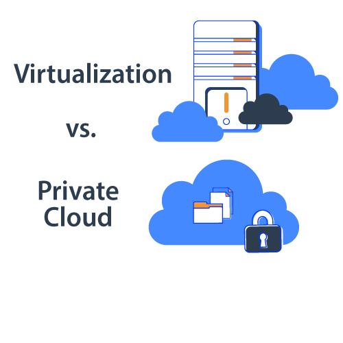 Private Cloud vs. Virtualization